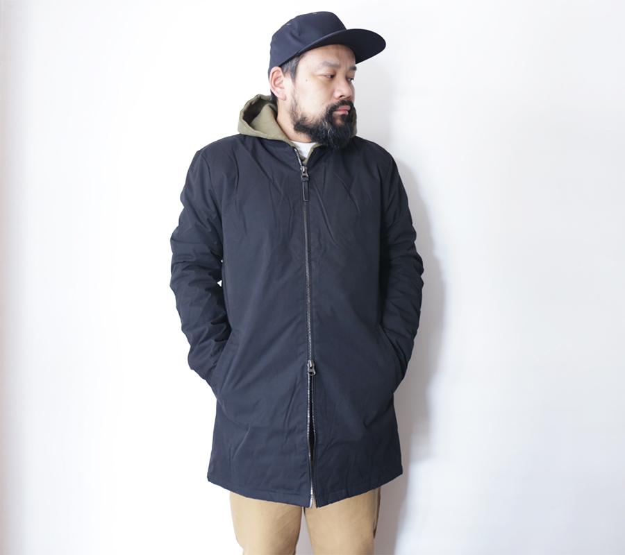 FAT MOOSE  AUTUMN/WINTER 16 COLLECTION  OFFICE COAT  color : Black
