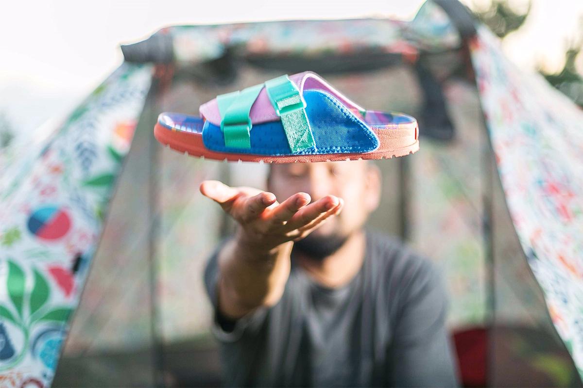 浮遊LENNON CHILLER POLeR × PEOPLE FOOTWEAR Collaborative Sandals