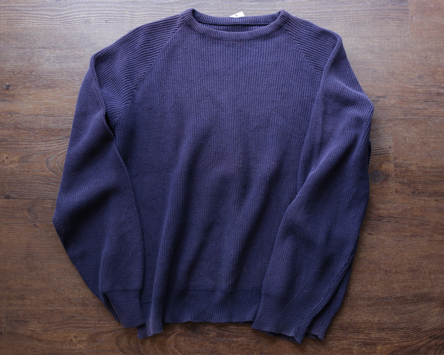 used / Cotton Crew Neck Knit