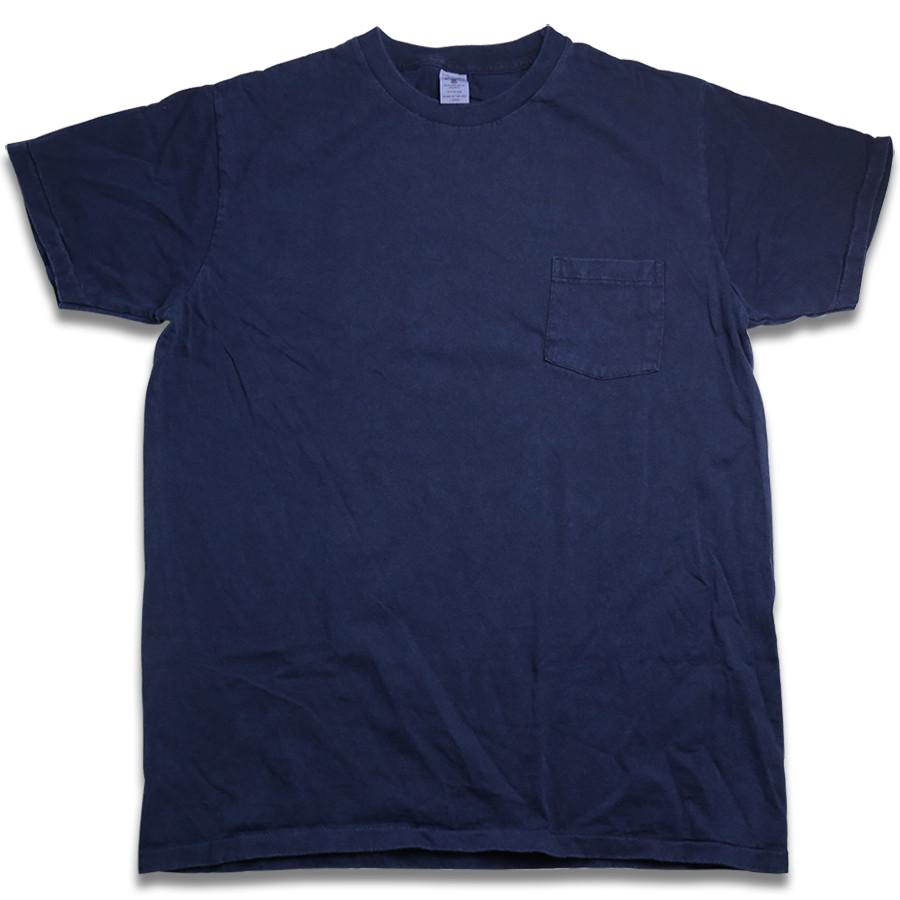 Velva Sheen / Indigo Dyed Pocket T