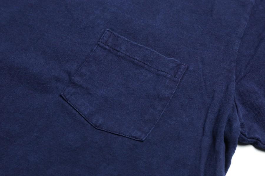 Velva Sheen / Indigo Dyed Pocket T 3