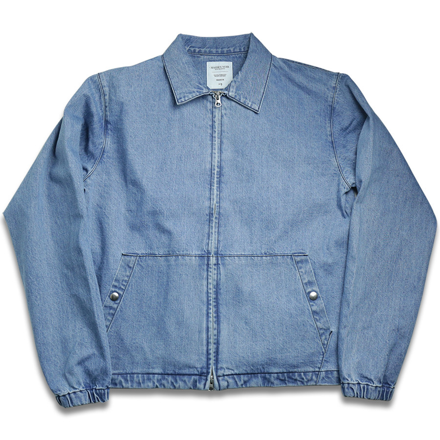 MAIDEN NOIR DENIM JACKET - Stone Indigo
