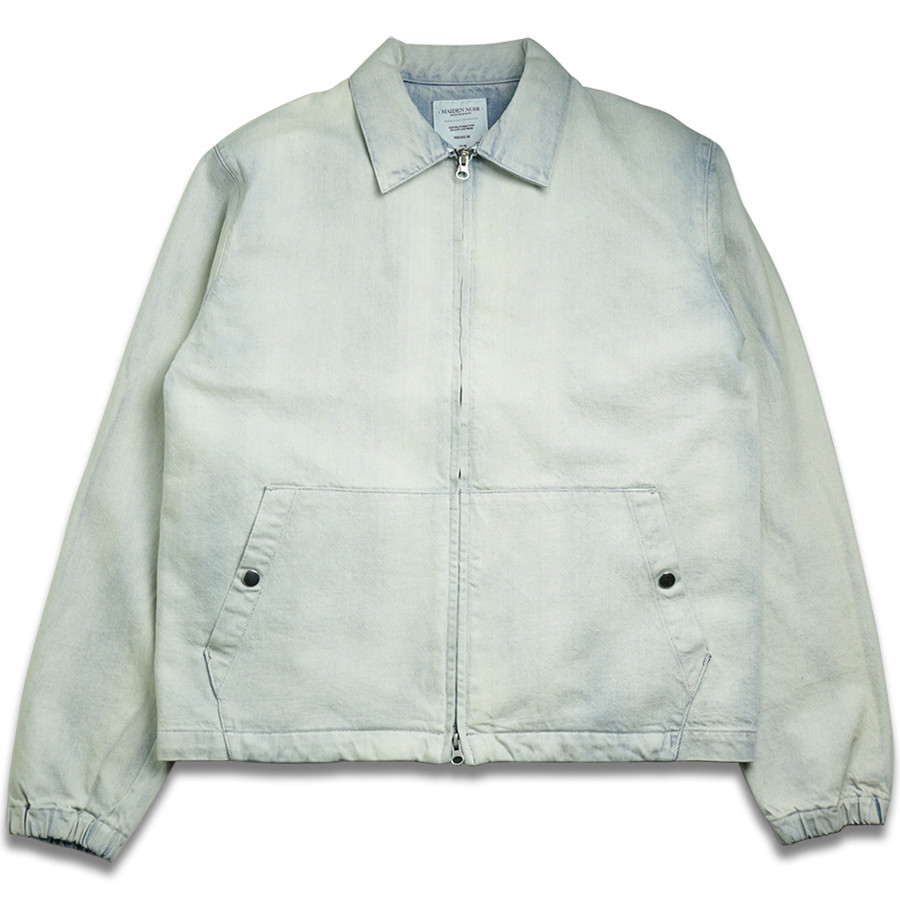 MAIDEN NOIR DENIM JACKET - Bleach White