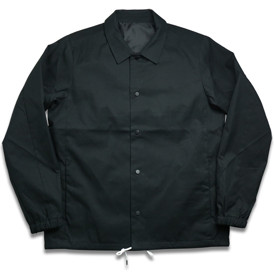 MAIDEN NOIR / COACH JACKET - Black