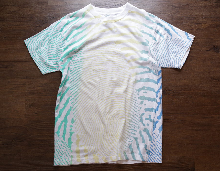 USED / ALL OVER PRINT T-SHIRT