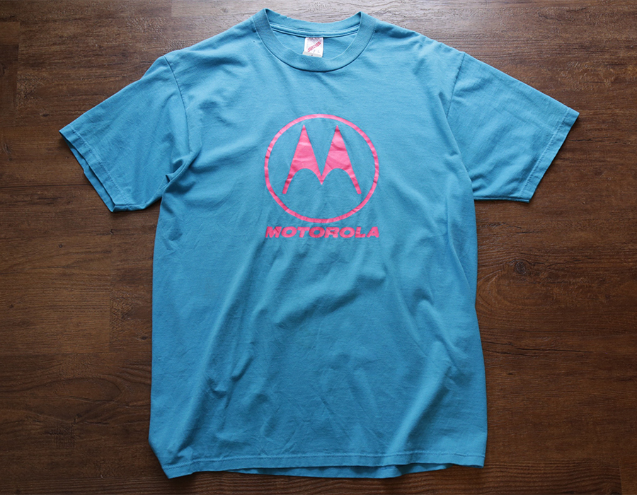 USED / MOTOROLA T-SHIRT