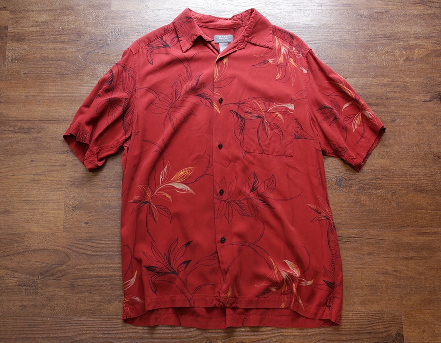 USED / CRAZY HORSE  SHORT SLEEVE SHIRT