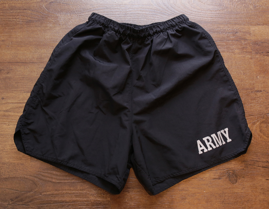 USED / ARMY PT SHORTS