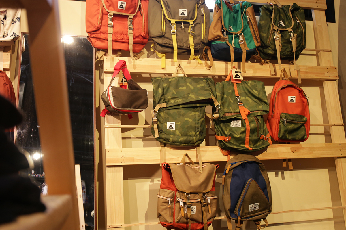 wax clothing Blog / POLER BACKPACKS
