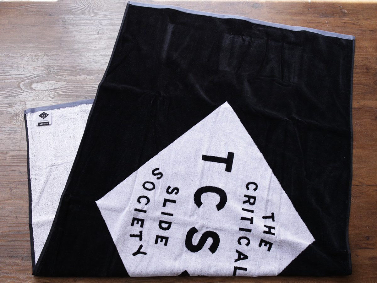 TCSS/the critical slide society SUMMER 2016 / STANDARD TOWEL - Phantom(Black)