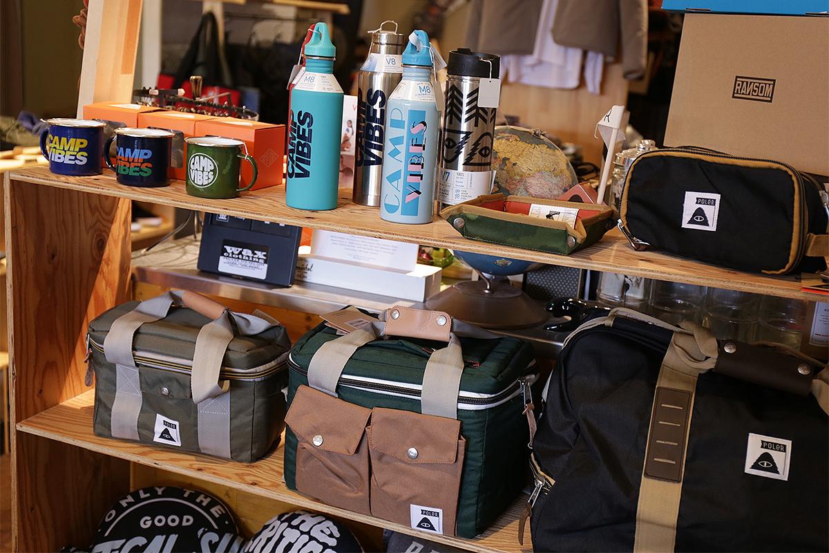 wax clothing Blog / POLER MUG CUP, MIZU BOTTLE & CAMERA COOLER