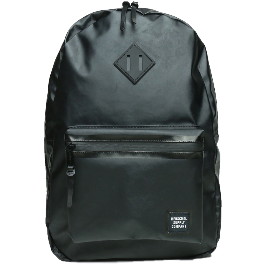 STUDIO COLLECTION / RUSKIN BACKPACK - Black Polycoat