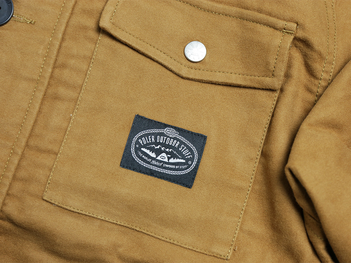 POLeR OUTDOOR STUFF FALL 16 COLLECTION THE MOLE JACKET color : Yellow