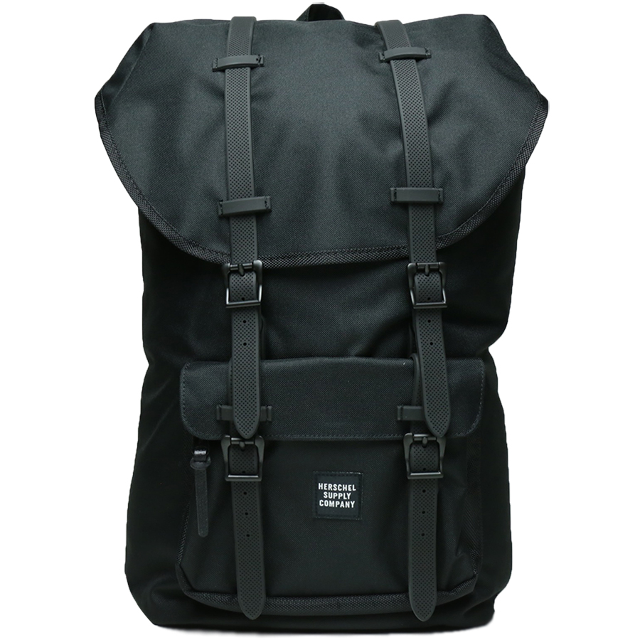 ASPECT COLLECTION / LITTLE AMERICA BACKPACK - Black/Black Ballistic