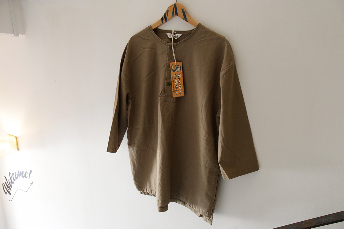 FIVE BROTHER 2016 SS WIDE SLEEPING SHIRT - Olive