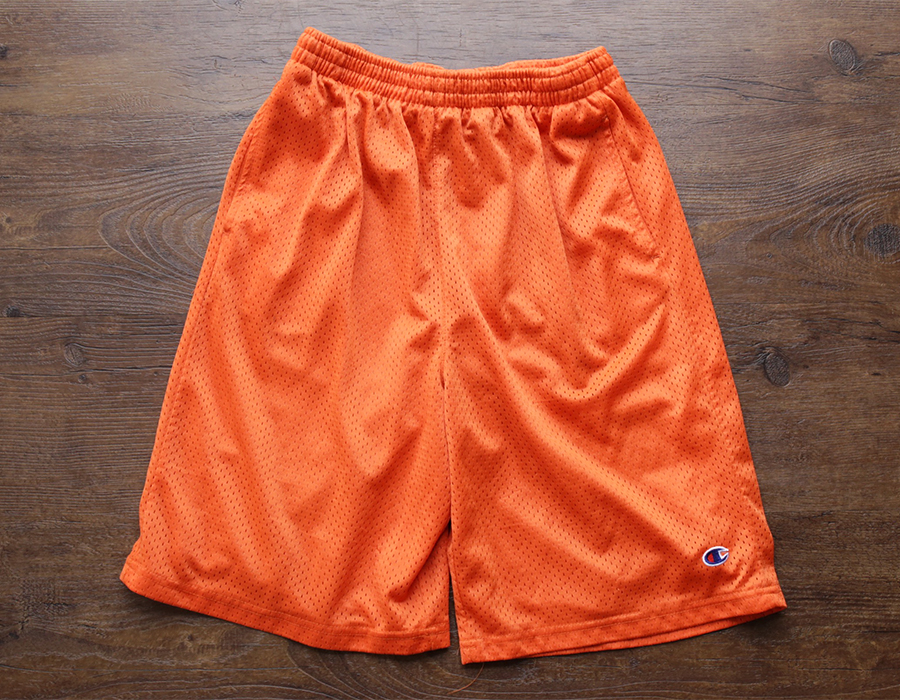 wax clothing USED / CHAMPION MESH SHORTS