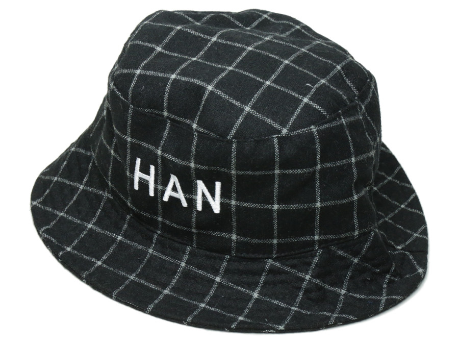 Han Kjobenhavn / 2016 Spring/Summer / BUCKET CAPS WOOL - Check Black side