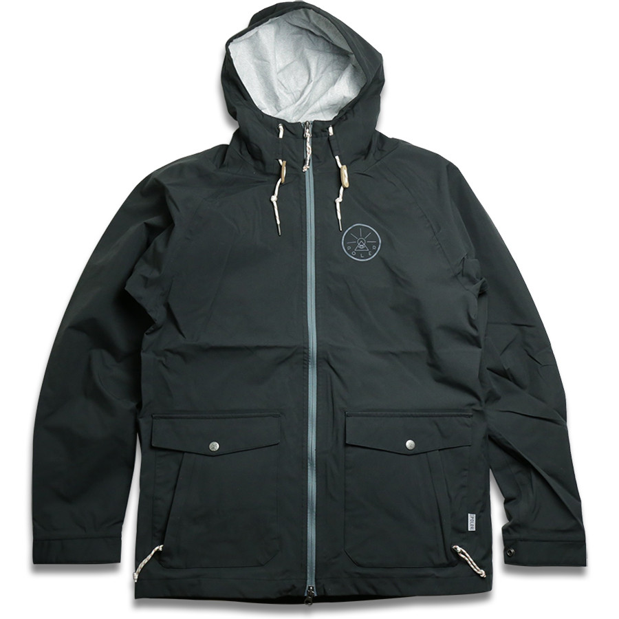 POLeR OUTDOOR STUFF / 2.5 L VAGABOND JACKET - Black