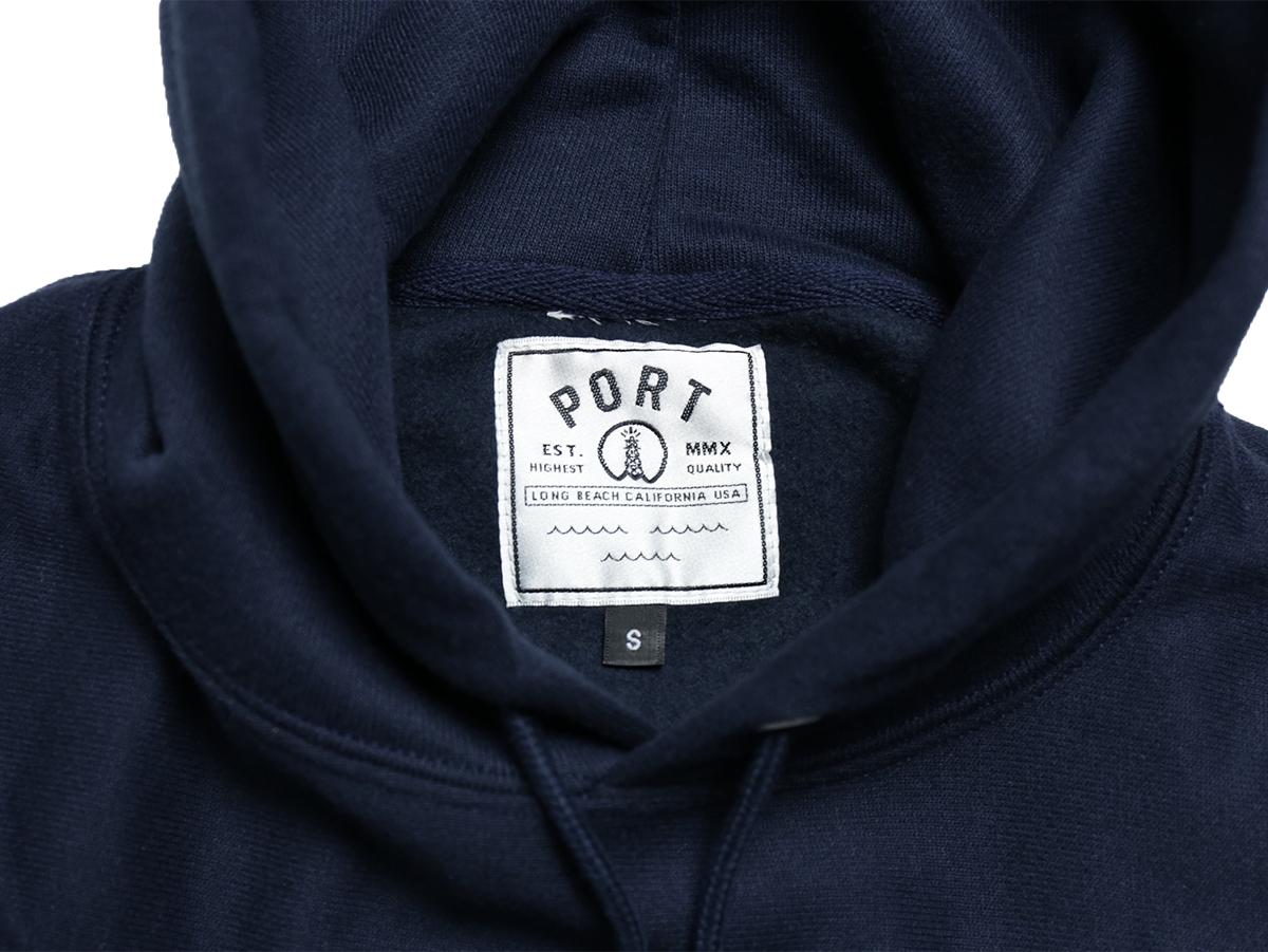 PORT LBC × CHAMPION REVESE WEAVE EPORT HOODIE - Navy
