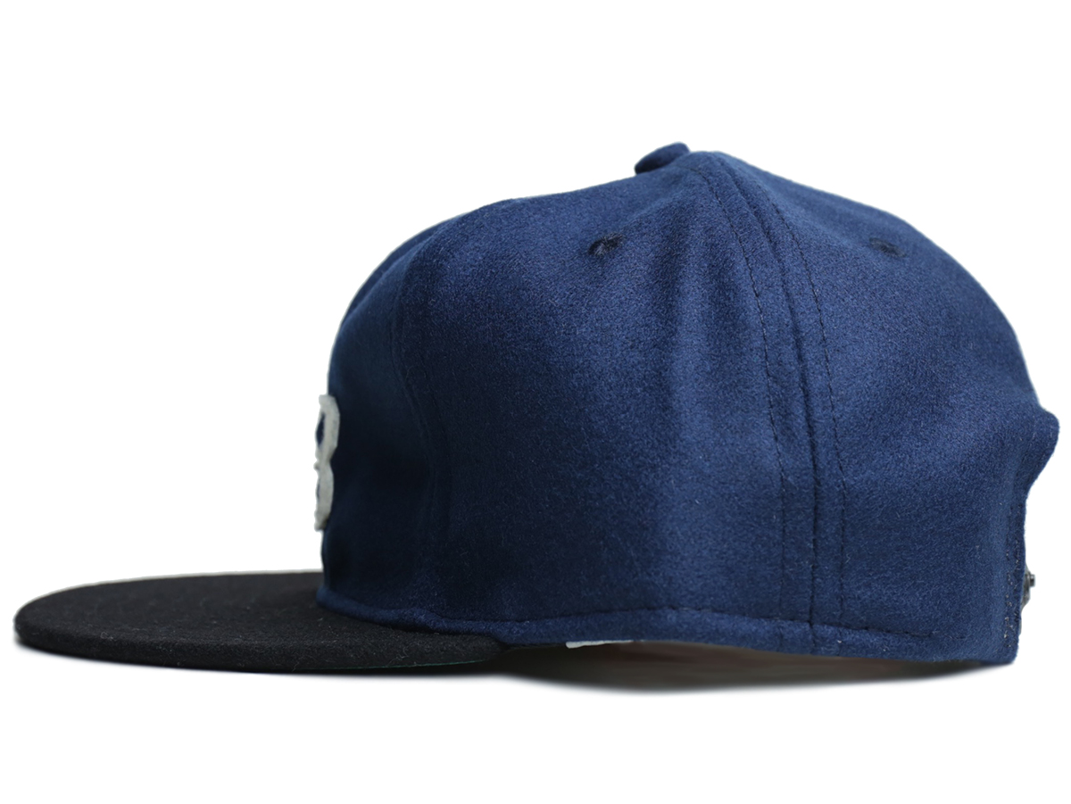 "PORT × EBBETS ""LB"" BALL CAP - Navy/Black"