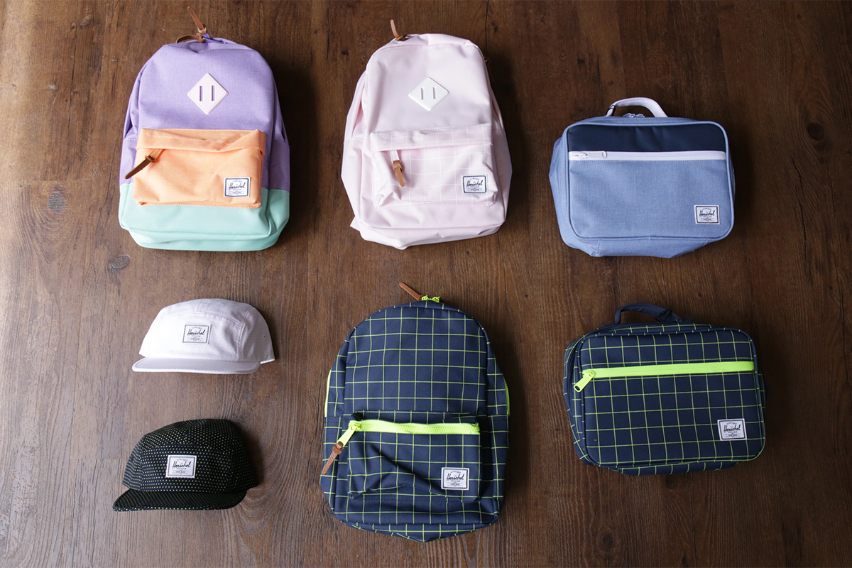 Herschel Supply KIDS COLLECTION HERITAGE KIDS, SETTLEMENT KIDS, POP QUIZ LUNCHBOX, GLENDALE YOUTH CLASSIC
