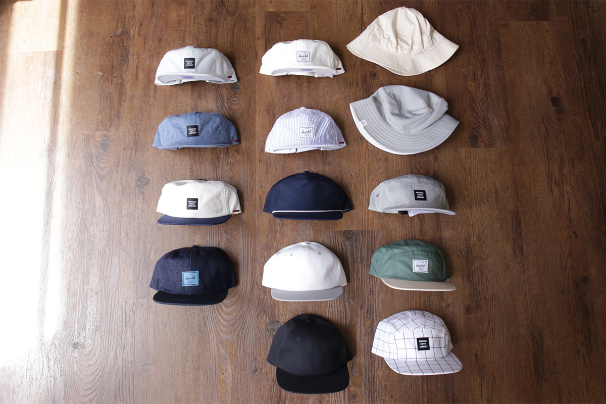 Herschel Supply Headwear ALBERT, ALBERT SEAMLESS, CUSAK, GLENDALE,  WINDSOR, LAKE