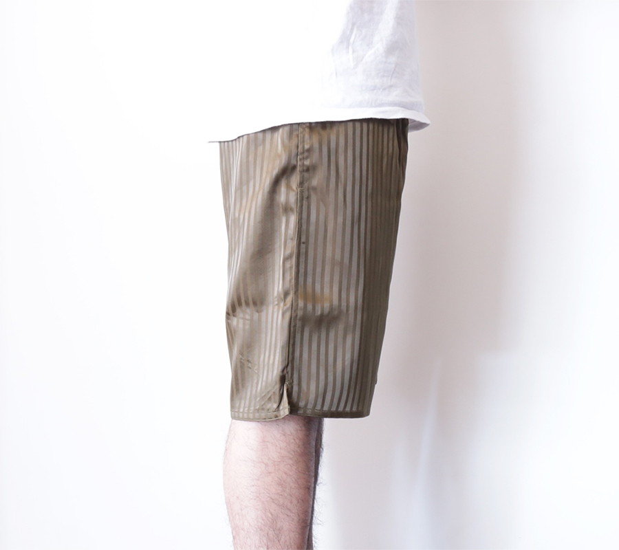 Han Kjobenhavn / 2016 Spring/Summer / HONOUR SHORTS STRIPE - Green