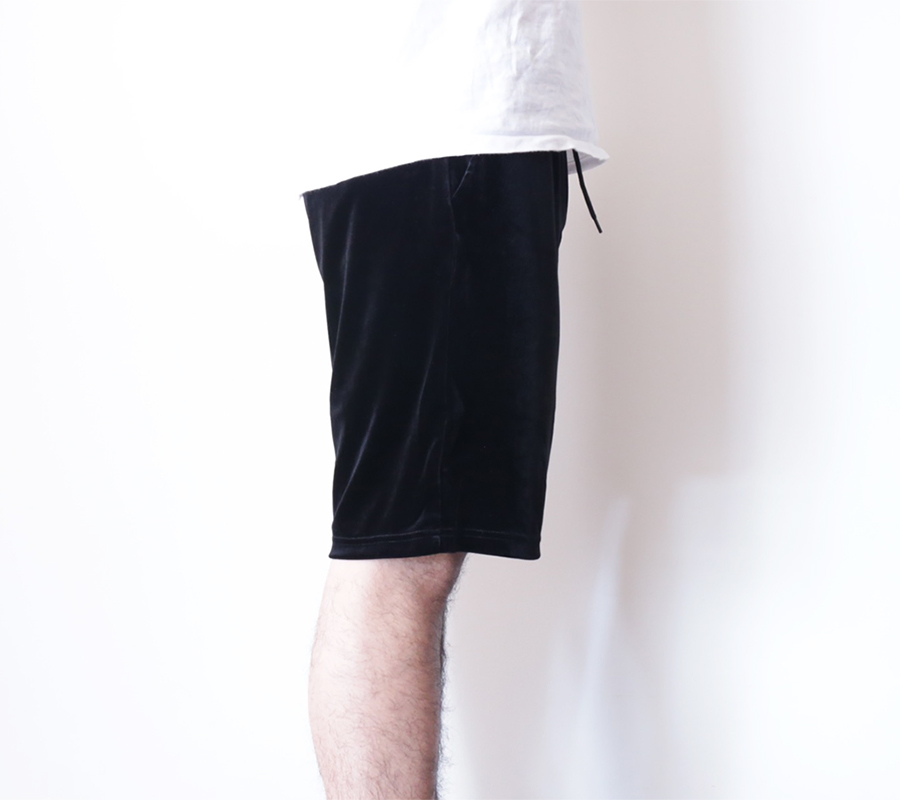 Han Kjobenhavn / 2016 Spring/Summer / HONOUR SHORTS VELOUR - Black
