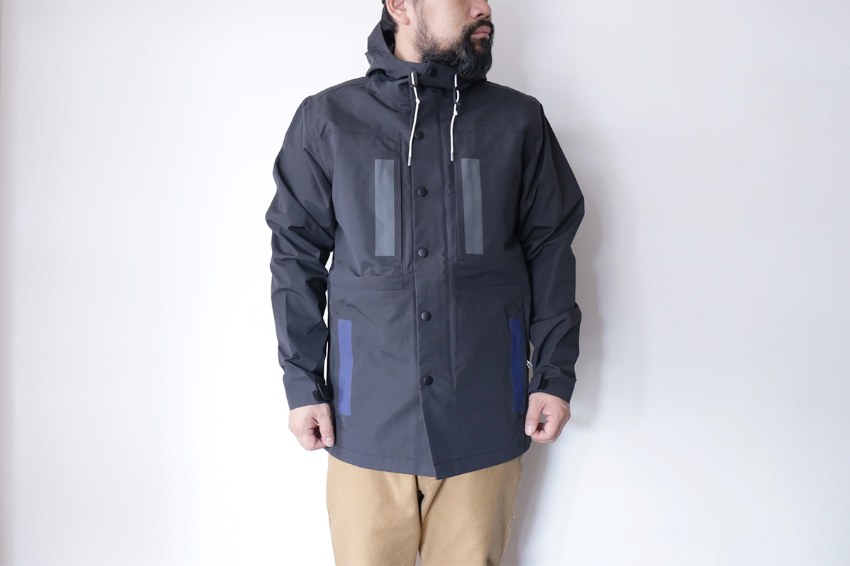 POLeR OUTDOOR STUFF FALL 16 COLLECTION 3L DUCK JACKET color : Black