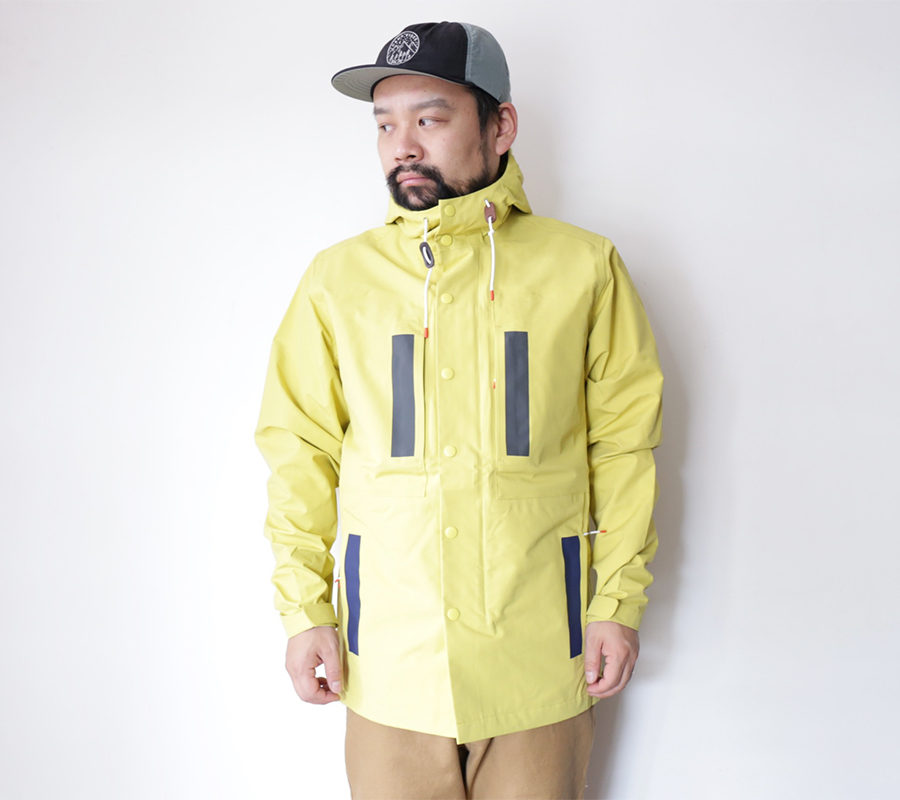 POLeR OUTDOOR STUFF FALL 16 COLLECTION 3L DUCK JACKET color : Yellow