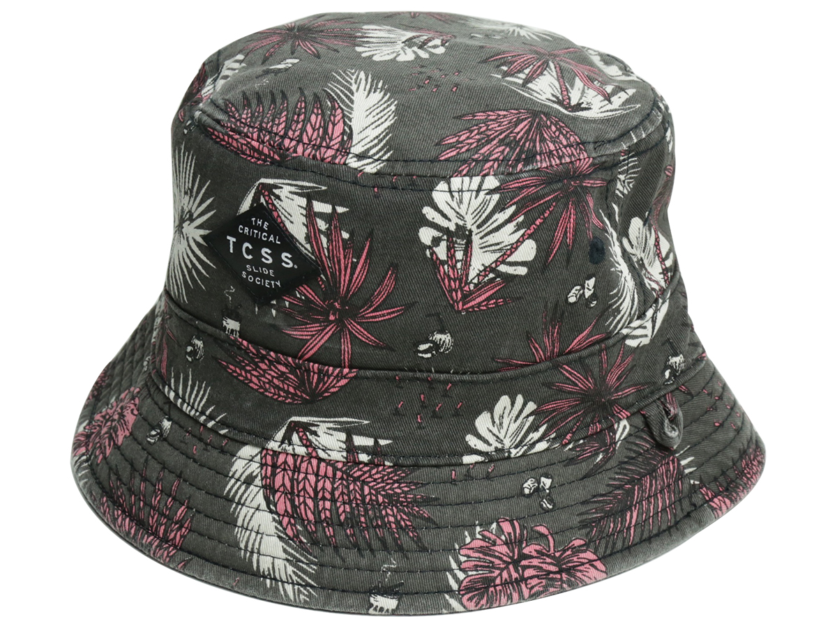 TCSS/ PARADISE BUCKET HAT - Phantom(Black)