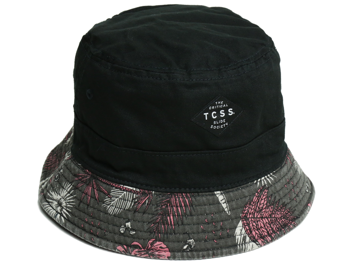 TCSS/ PARADISE BUCKET HAT - Phantom(Black) 裏