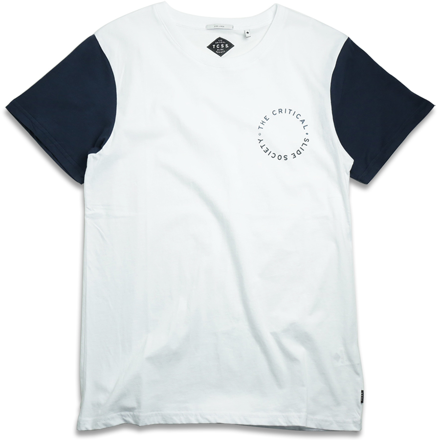 TCSS/ ESTABLISHED CHEST TEE - Blanc(White)