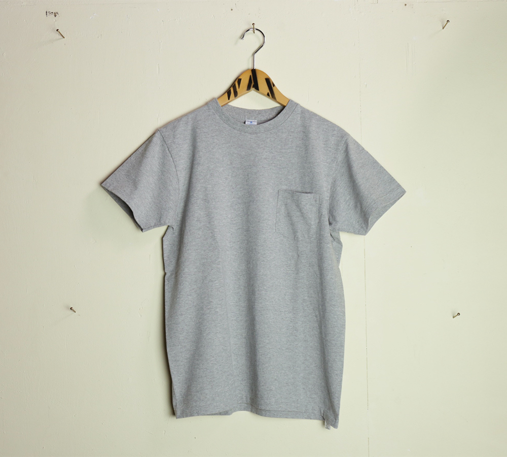 Velva Sheen / 2–Pac Pocket Tee - H.Gray