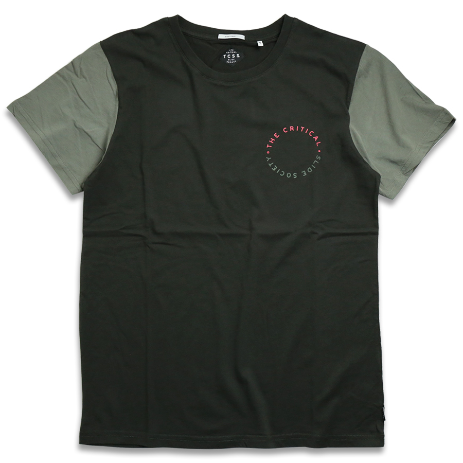 TCSS/ ESTABLISHED CHEST TEE - Phantom(Black)