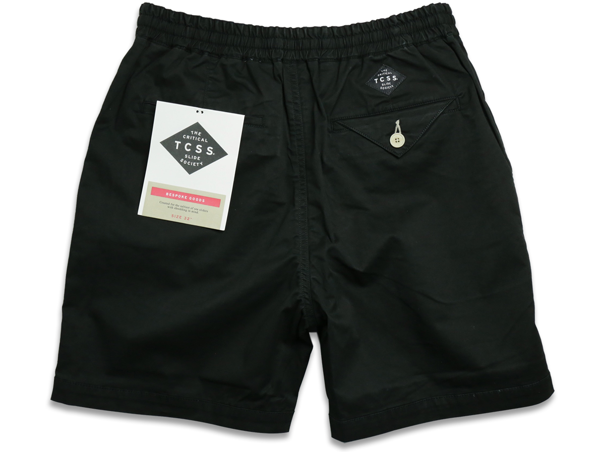 TCSS / MR COMFORT WALKSHORT - Beluga(Black) back