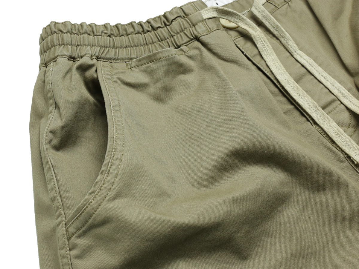 TCSS / MR COMFORT WALKSHORT - Brindle(Beige) coin pocket