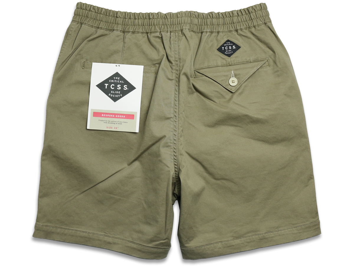 TCSS / MR COMFORT WALKSHORT - Brindle(Beige) Back