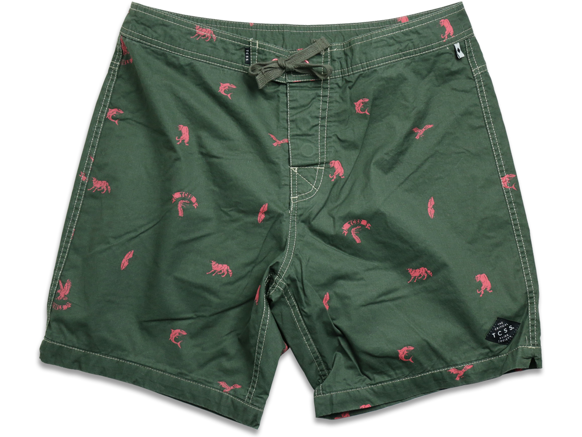 TCSS / WET CITY TRUNK - Thyme(Olive Green)