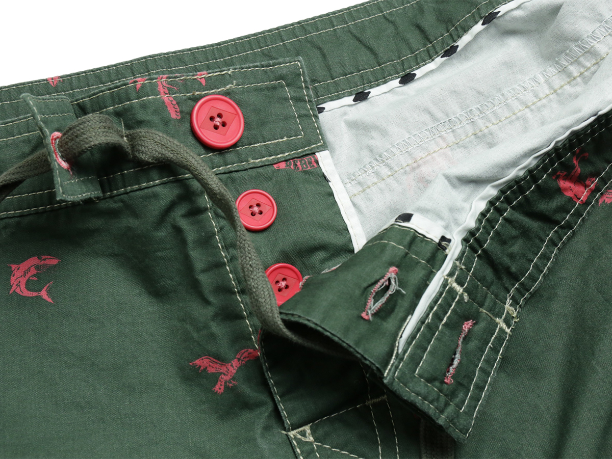 TCSS / WET CITY TRUNK - Thyme(Olive Green)  Button