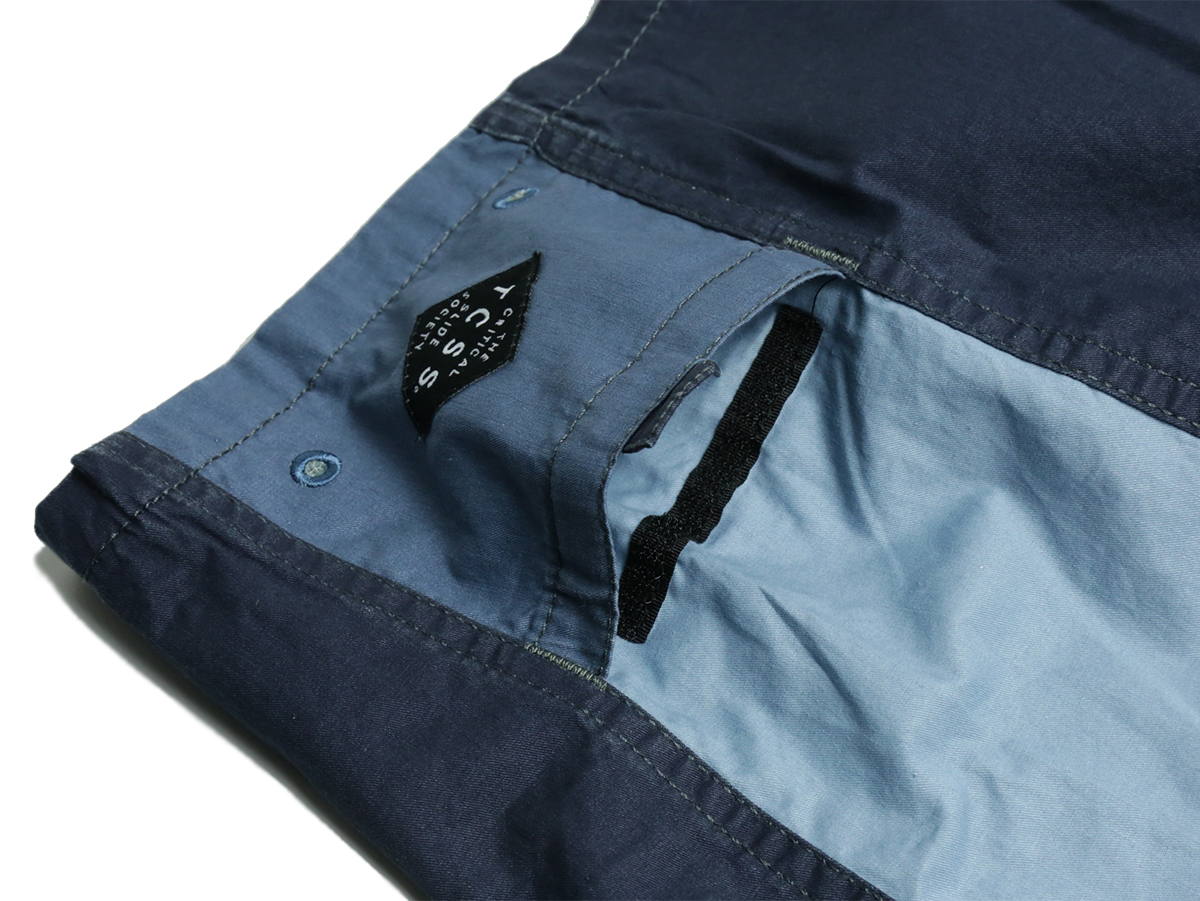 TCSS / JUMBLED TRUNK - Flint(Navy)  pocket