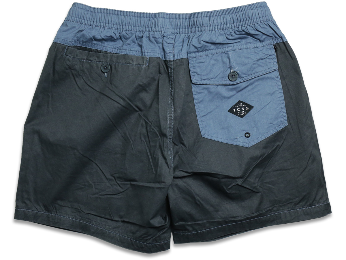 PLAIN JANE TRUNK - Phantom/Flint(Black/Navy)  back