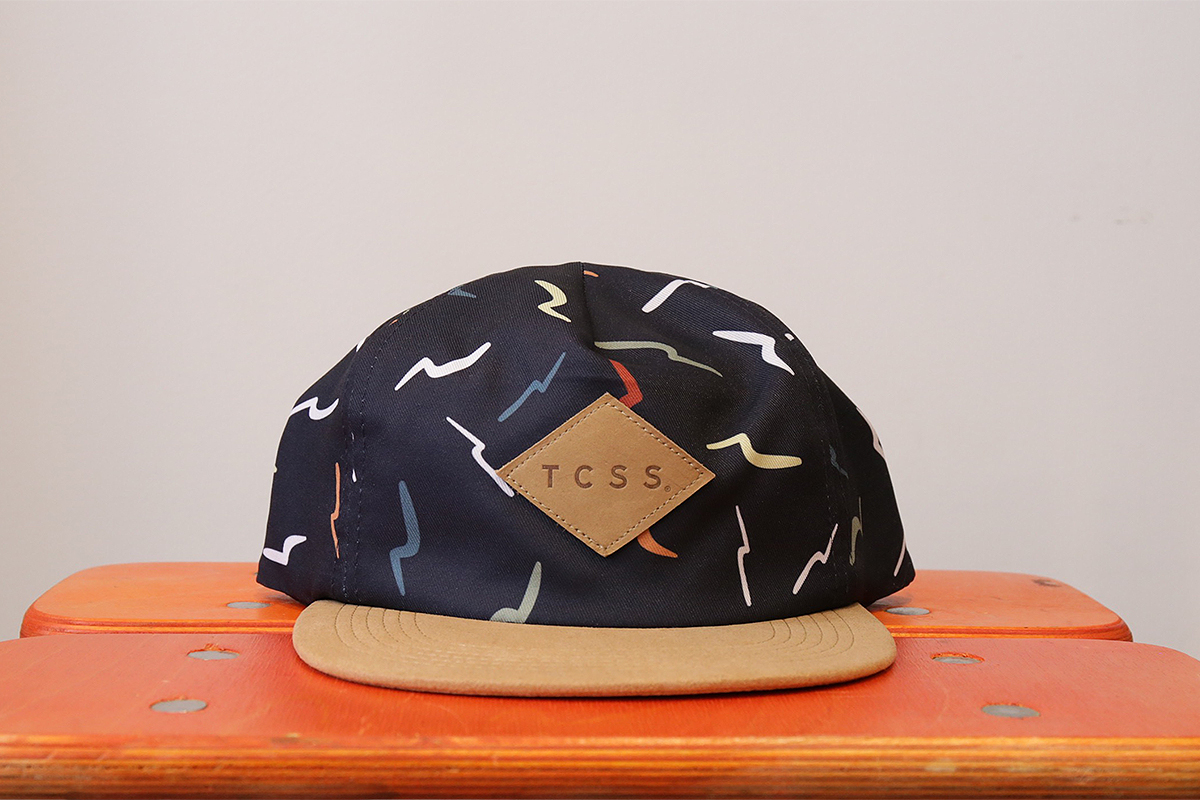 TCSS FALL16 / LAYBACK CAP - Navy/Tan