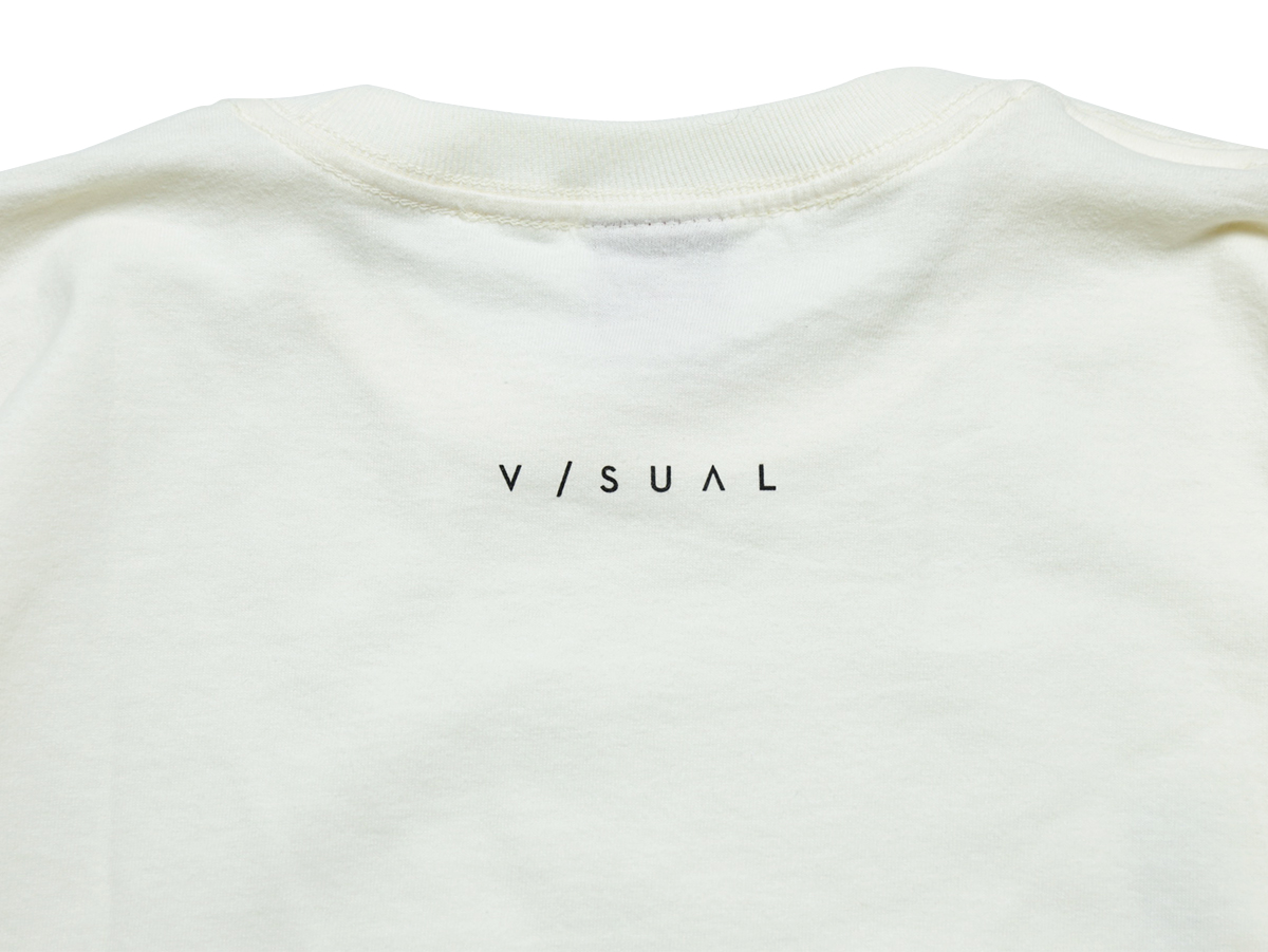 VISUAL Apparel / HOLIDAY 2016 LA TEE color : Cream
