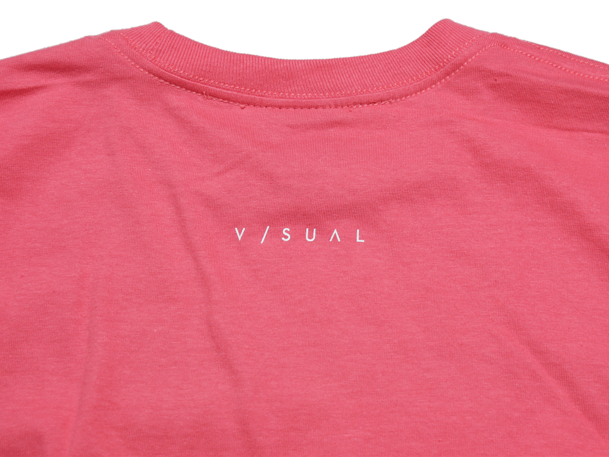 VISUAL Apparel / HOLIDAY 2016 LA TEE color : Coral