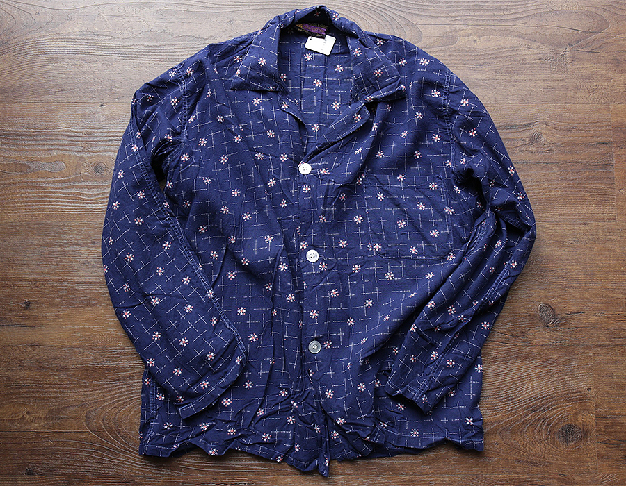 USED HENRY BANNERMAN PAJAMA SHIRT