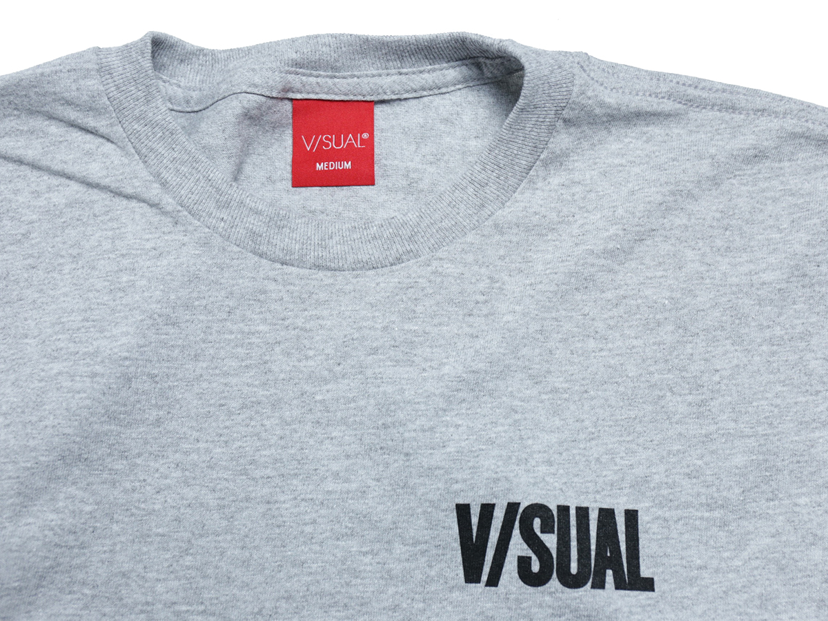 VISUAL Apparel / HOLIDAY 2016 FORBIDDEN TEE color : Heather Grey