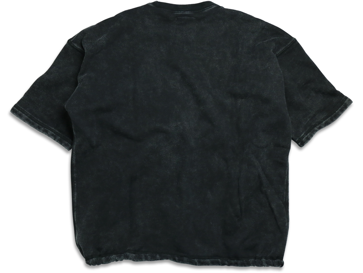 MAIDEN NOIR / ENZYME WASH SS CREW - Black