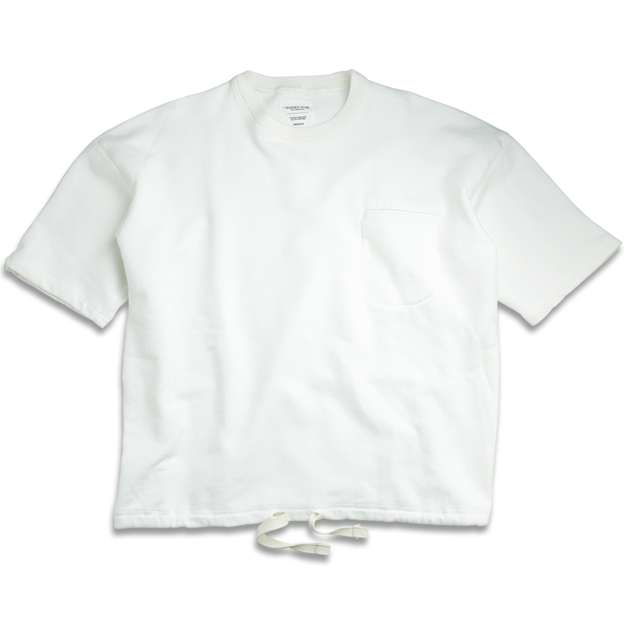 MAIDEN NOIR / ENZYME WASH SS CREW - White