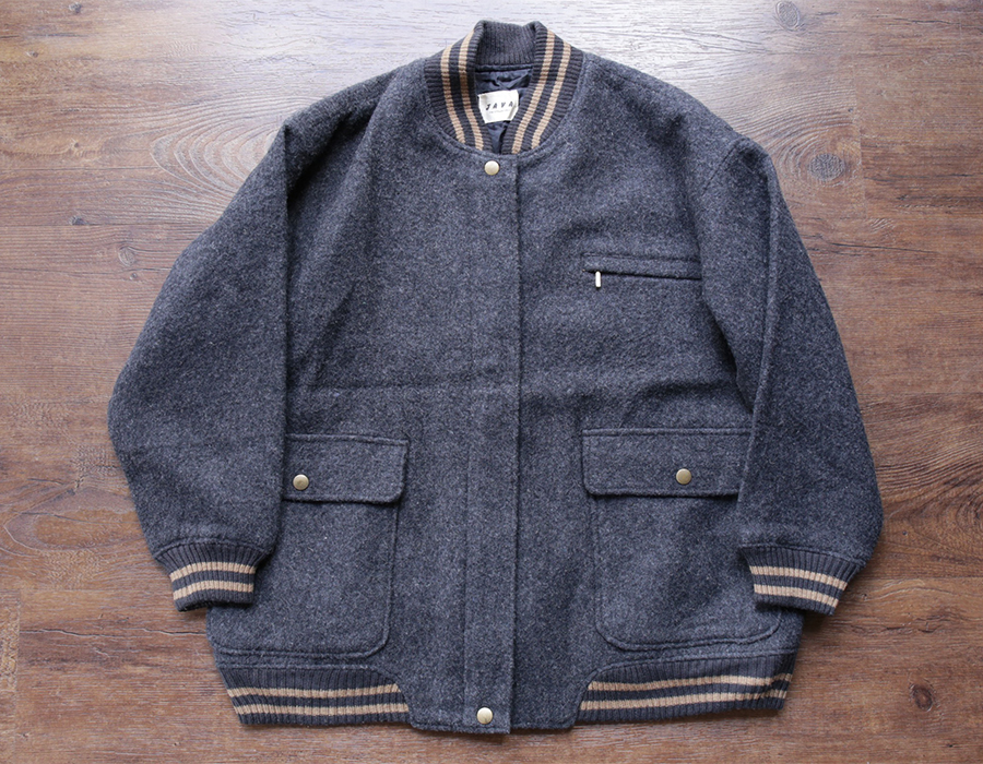 wax clothing USED / WOOL JACKET 『JAVA』